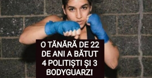 O tânără de 22 de ani din Constanța a bătut patru polițiști și trei bodyguarzi