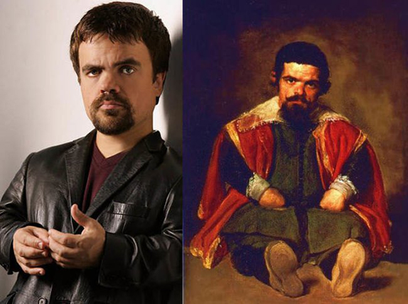Peter Dinklage din Game of Thrones şi tabloul lui Diego Velazquez